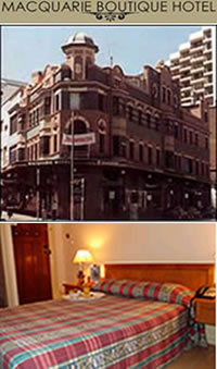 Macquarie Boutique Hotel - Accommodation Melbourne