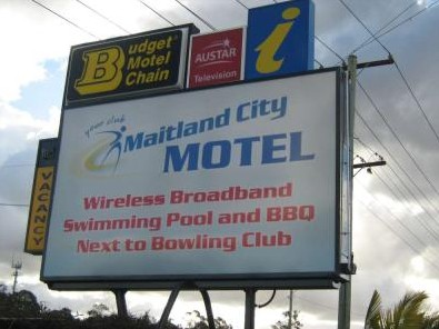 Maitland City Motel - Accommodation Melbourne
