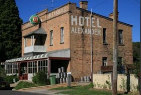Alexander Hotel Rydal - Accommodation Melbourne