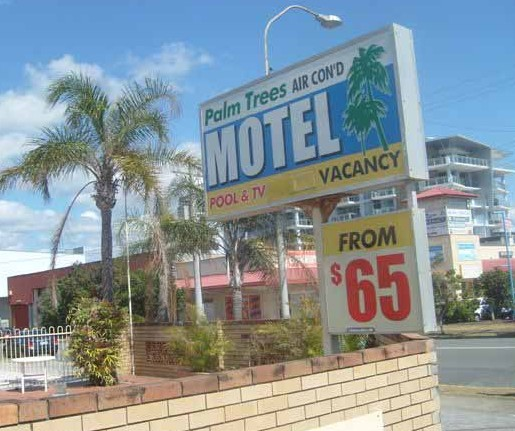 Palm Trees Motel - Accommodation Melbourne