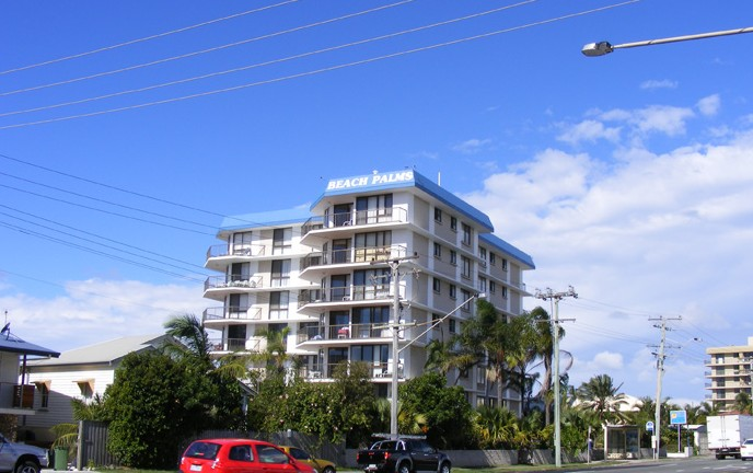 Beach Palms Holiday Apartments - Accommodation Melbourne