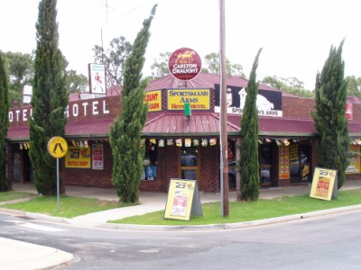 Sportsmans Arms Hotel Motel - Accommodation Melbourne