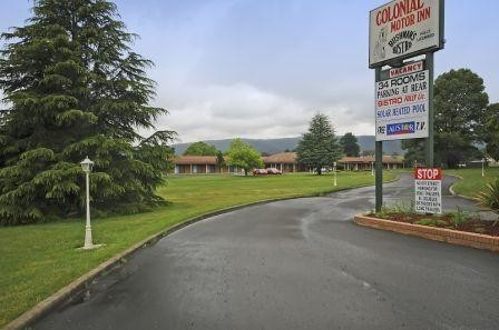 Colonial Motor Inn - Lithgow - Accommodation Melbourne