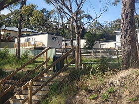 Coningham Beach Holiday Cabins - Accommodation Melbourne