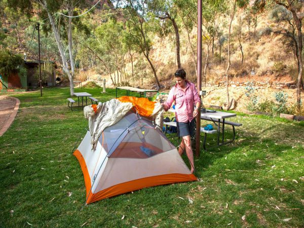 Standley Chasm Angkerle Camping - Accommodation Melbourne