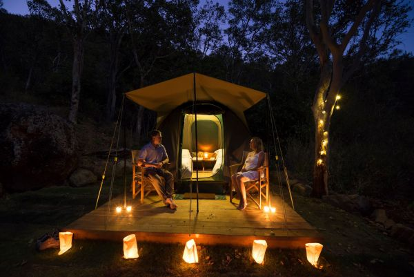 Keswick Island Camping and Glamping - Accommodation Melbourne