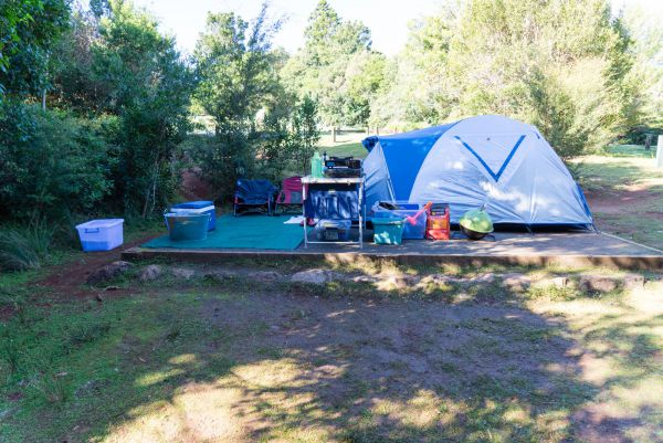 Lamington National Park Camping Ground - Accommodation Melbourne