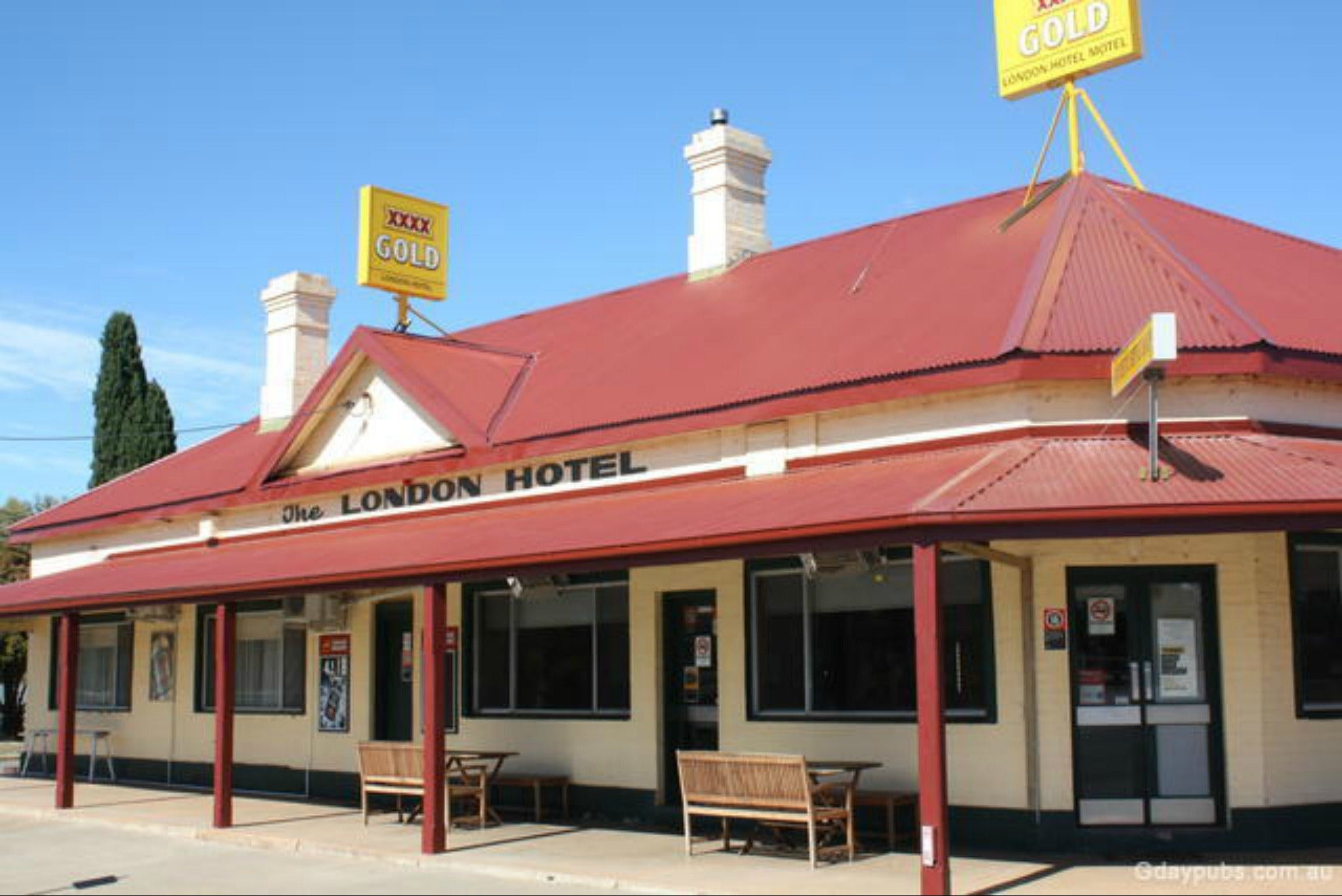 The London Hotel Motel - Accommodation Melbourne