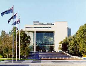 High Court of Australia Parkes Place - Accommodation Melbourne