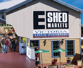 The E Shed Markets - Accommodation Melbourne