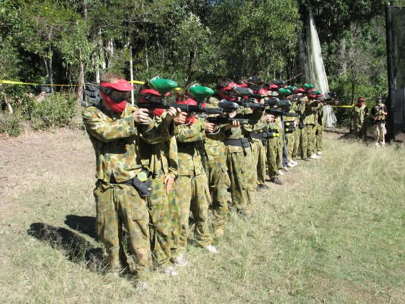 Top Gun Paintball Park - Accommodation Melbourne