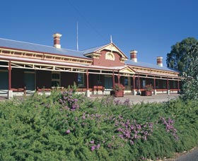 Old Railway Station Museum - Accommodation Melbourne