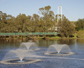 Suspension Bridge - Accommodation Melbourne