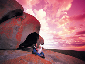 Remarkable Rocks Flinders Chase National Park - Accommodation Melbourne