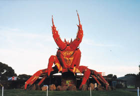 The Big Lobster - Accommodation Melbourne