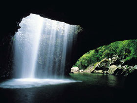 Natural Bridge Springbrook National Park - Accommodation Melbourne