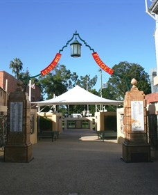Gympie and Widgee War Memorial Gates - Accommodation Melbourne