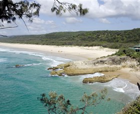 Main Beach North Stradbroke Island - Accommodation Melbourne