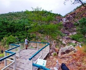 Jourama Falls Paluma Range National Park - Accommodation Melbourne