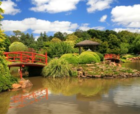 Japanese Gardens - Accommodation Melbourne