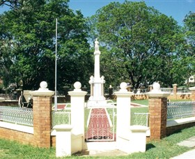 Boonah War Memorial and Memorial Park - Accommodation Melbourne