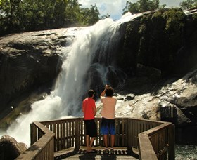 Murray Falls Girramay National Park - Accommodation Melbourne
