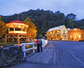 Walhalla Historic Area - Accommodation Melbourne