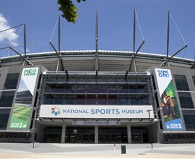 National Sports Museum at the MCG - Accommodation Melbourne