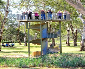 Darling and Murray River Junction and Viewing Tower - Accommodation Melbourne