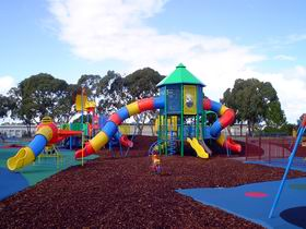 Millicent Mega Playground in The Domain - Accommodation Melbourne