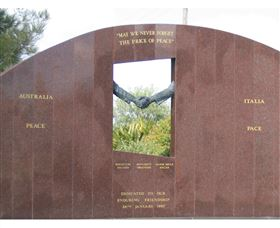 Cowra Italy Friendship Monument - Accommodation Melbourne