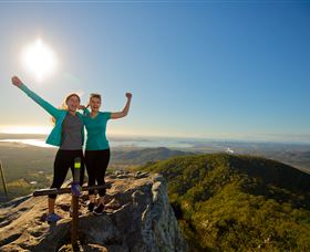 Mount Larcom Climb - Accommodation Melbourne
