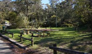 Gordon Falls lookout and picnic area - Accommodation Melbourne