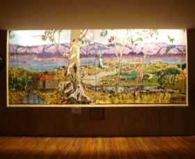 Adaminaby Memorial Hall Stage Curtain - Accommodation Melbourne