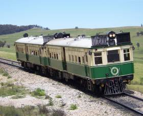 Paterson Rail Motor Society - Accommodation Melbourne