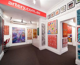 The Artery Aboriginal Art - Accommodation Melbourne