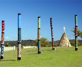 Maclean Tartan Power Poles - Accommodation Melbourne