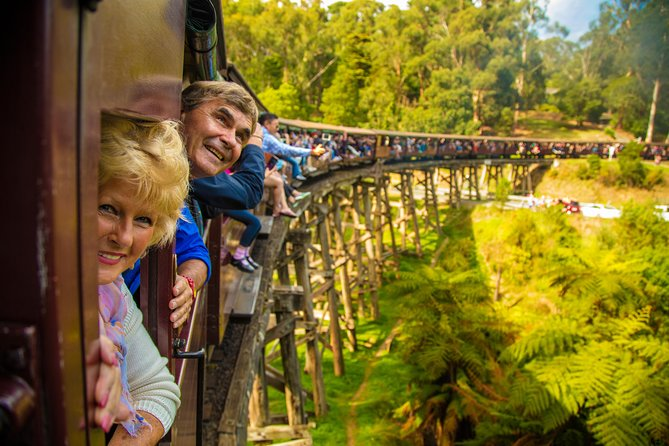 Puffing Billy Steam Train  Healesville Wildlife Sanctuary Tour From Melbourne - Accommodation Melbourne