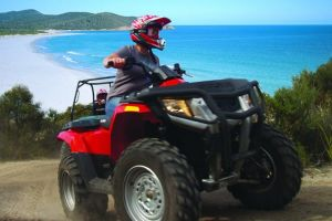 Half-Day Guided ATV Exploration Tour from Coles Bay - Accommodation Melbourne