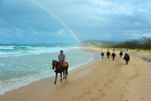 Rainbow Beach Horse Ride - Accommodation Melbourne
