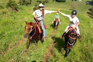 Country Day Ride from Mt Goomboorian with Rainbow Beach Horse Rides - Accommodation Melbourne