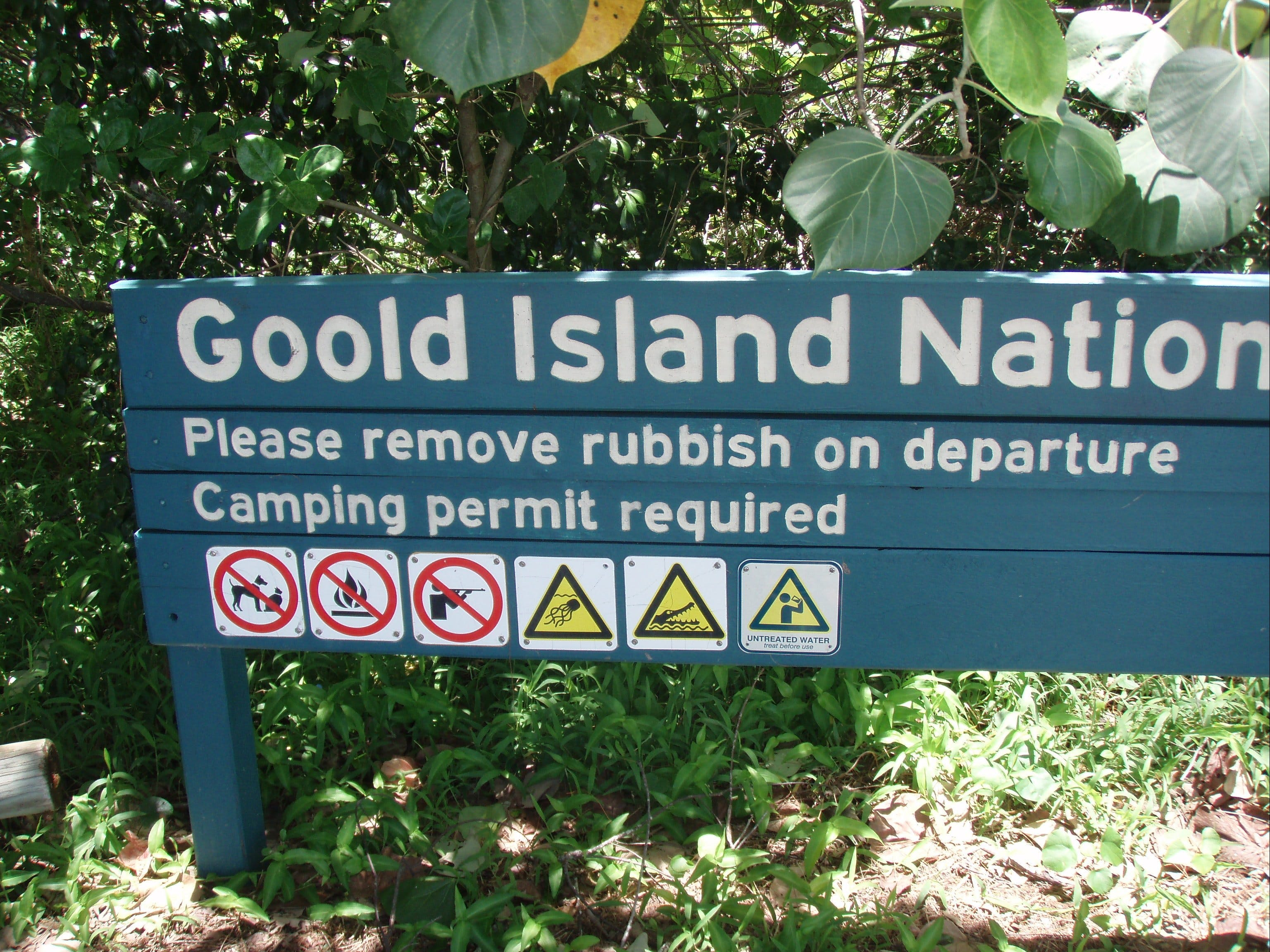Goold Island National Park - Accommodation Melbourne