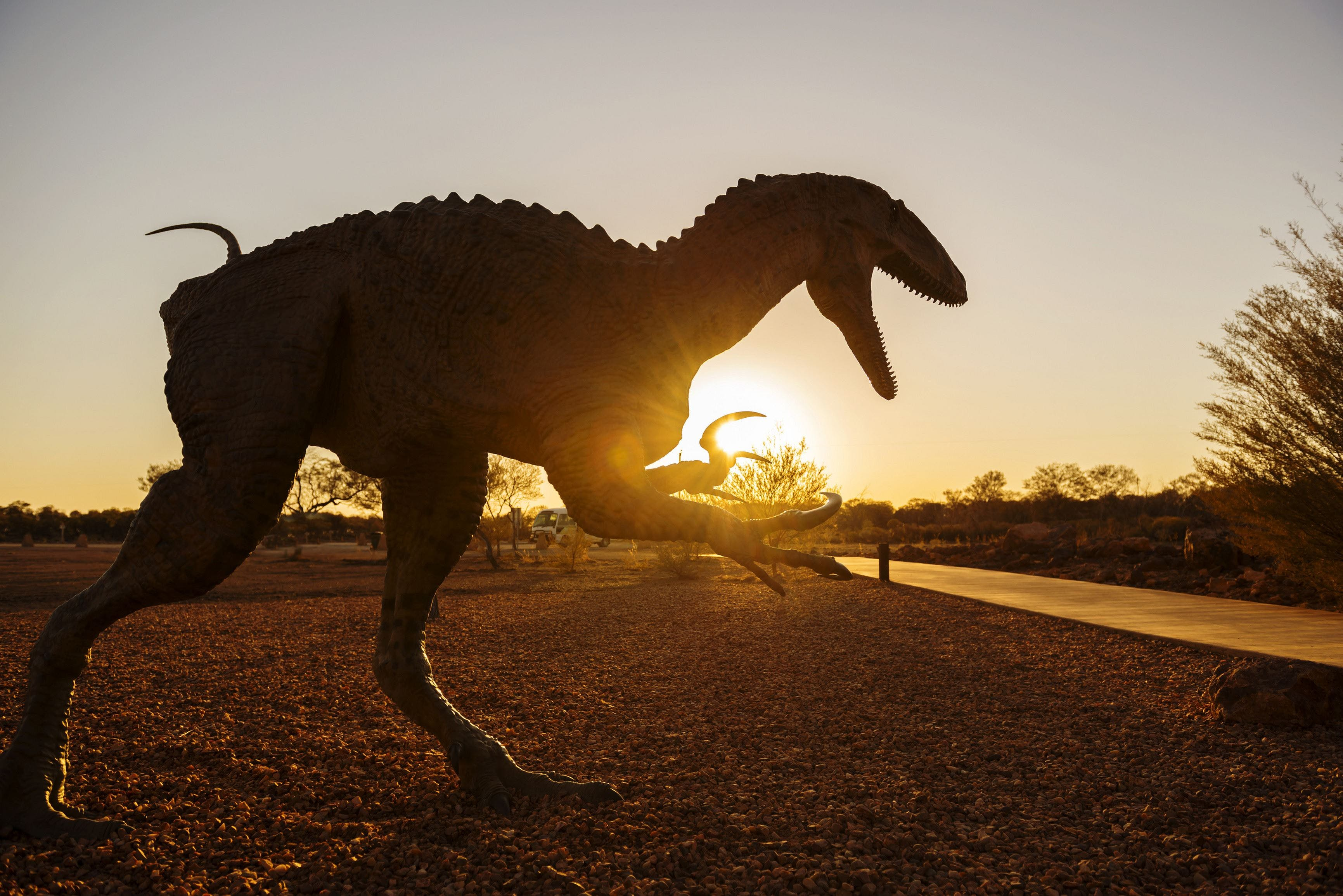 Australian Dinosaur Trail - Accommodation Melbourne