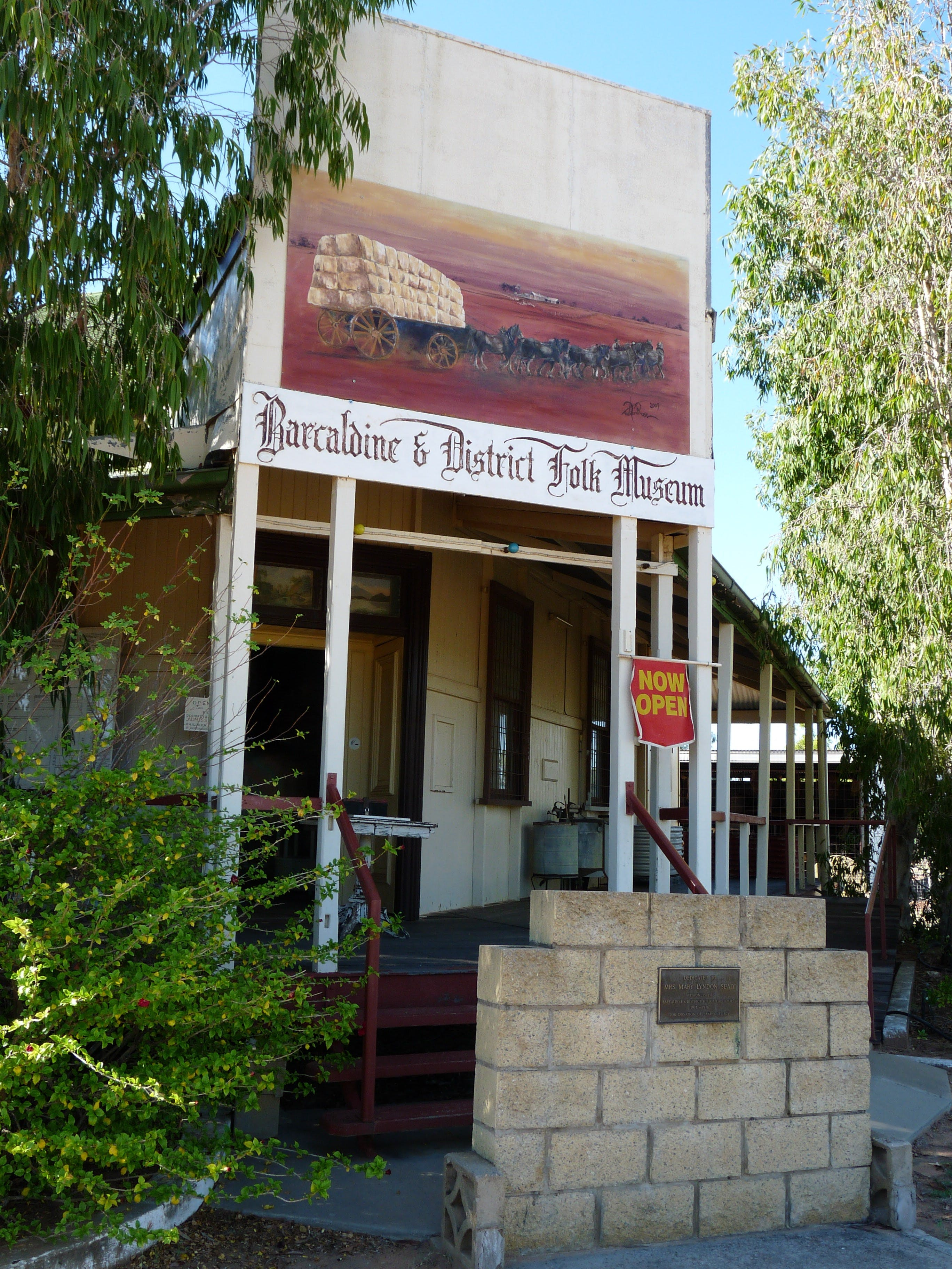 Barcaldine and District Historical Museum - Accommodation Melbourne
