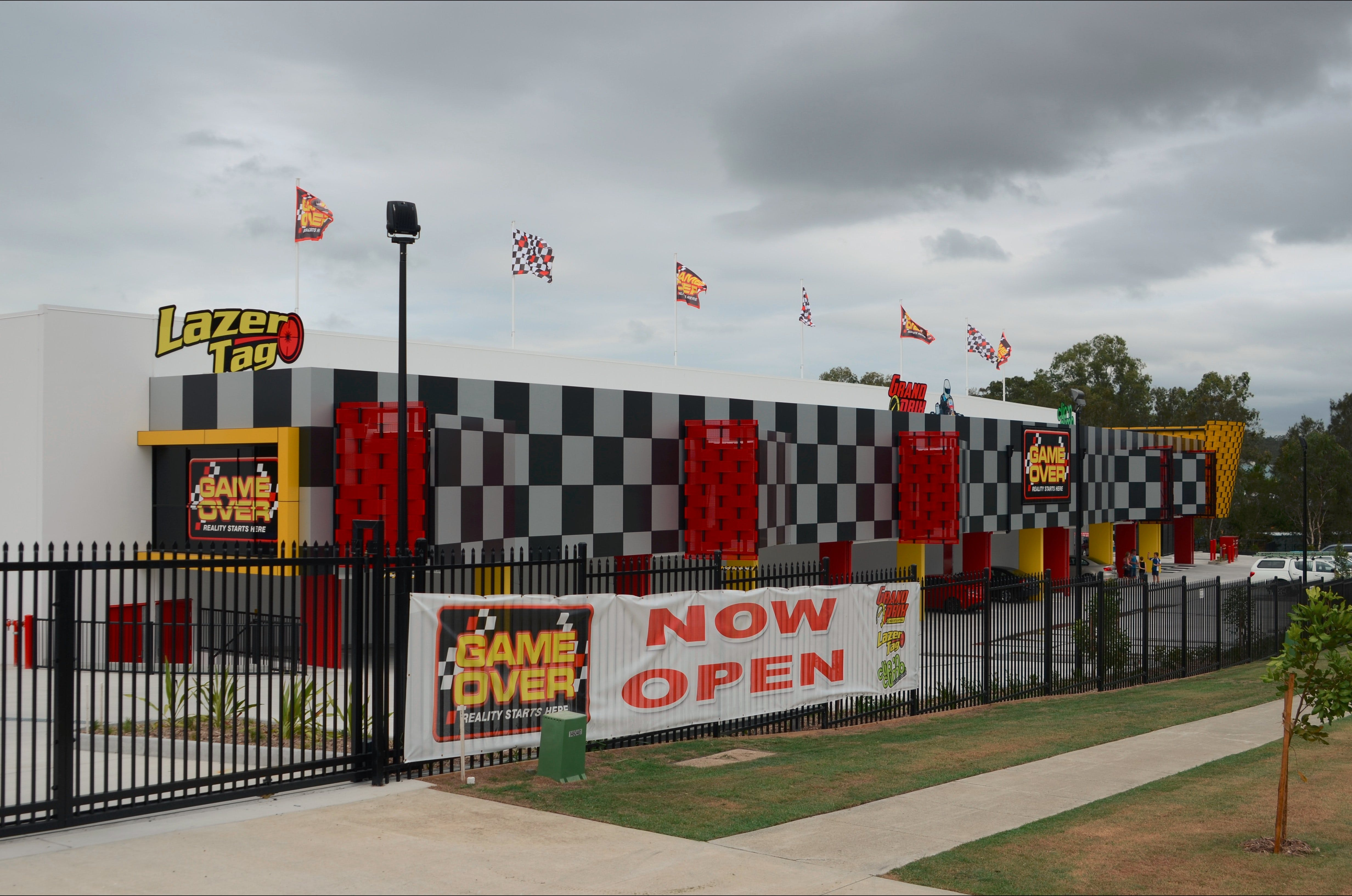 Game Over Indoor Go Karting Adventure Climbing Walls and Lazer Tag Centre - Accommodation Melbourne