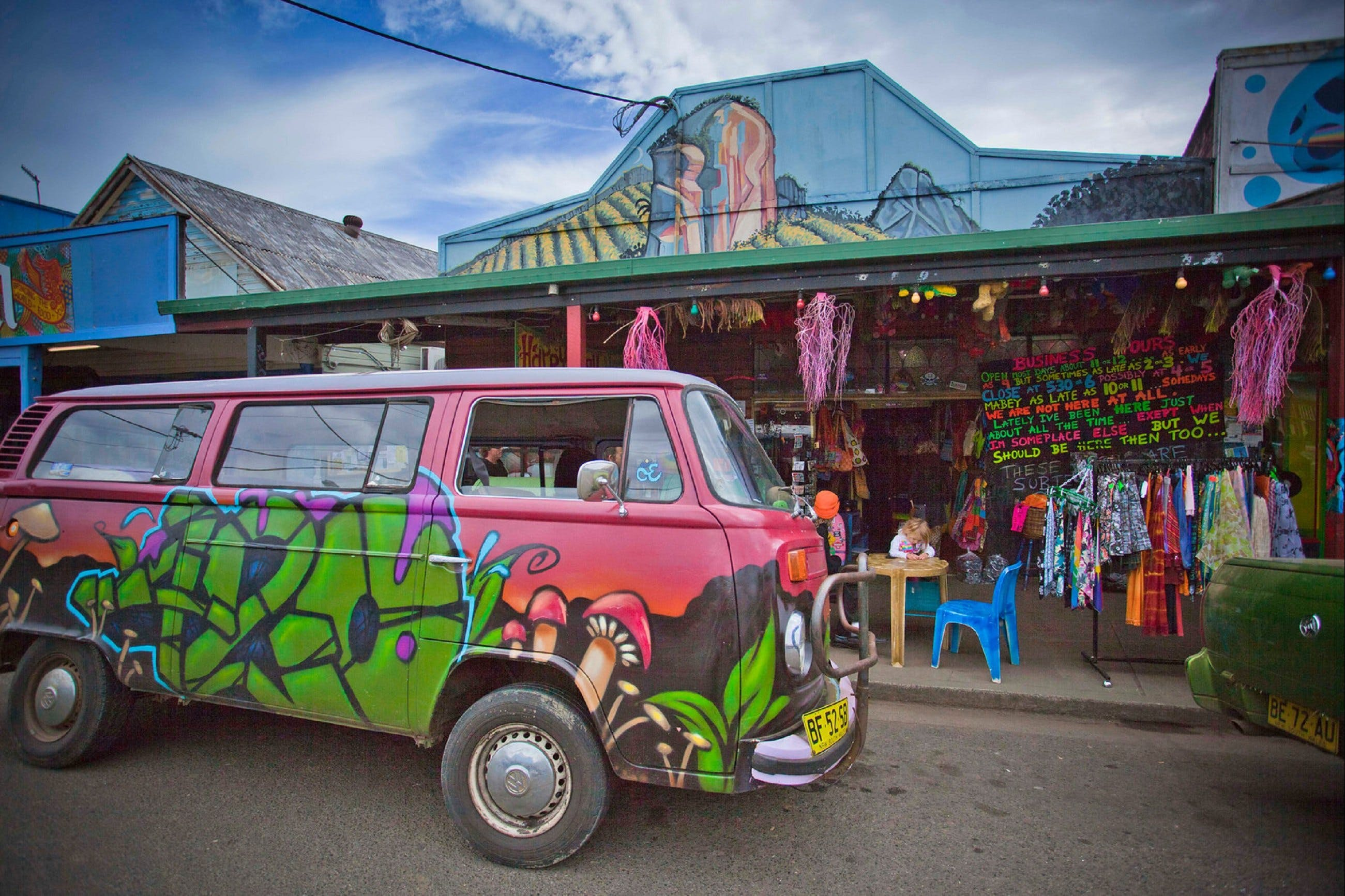 Nimbin - Accommodation Melbourne