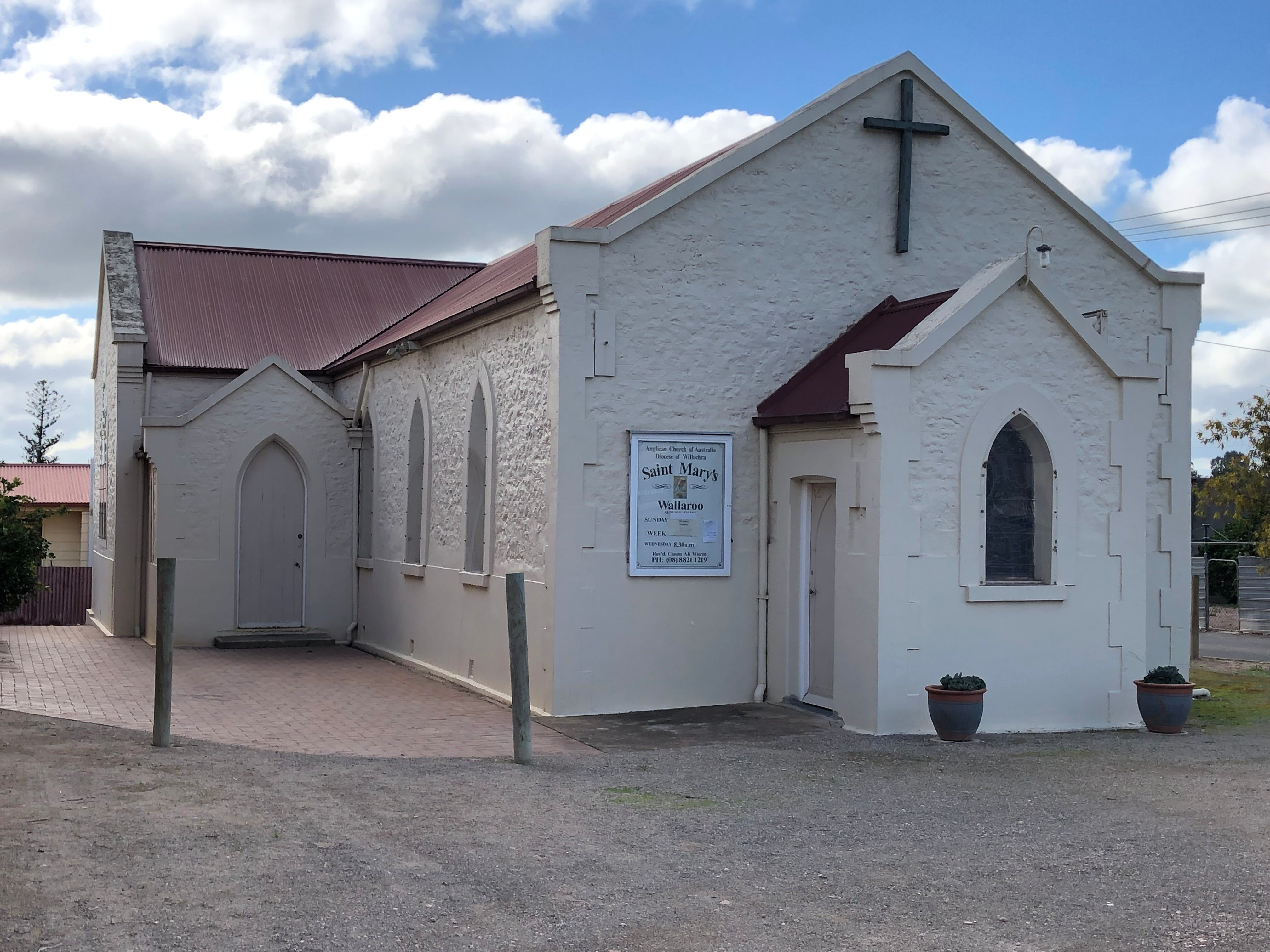 St Mary's Anglican Church Wallaroo - Accommodation Melbourne
