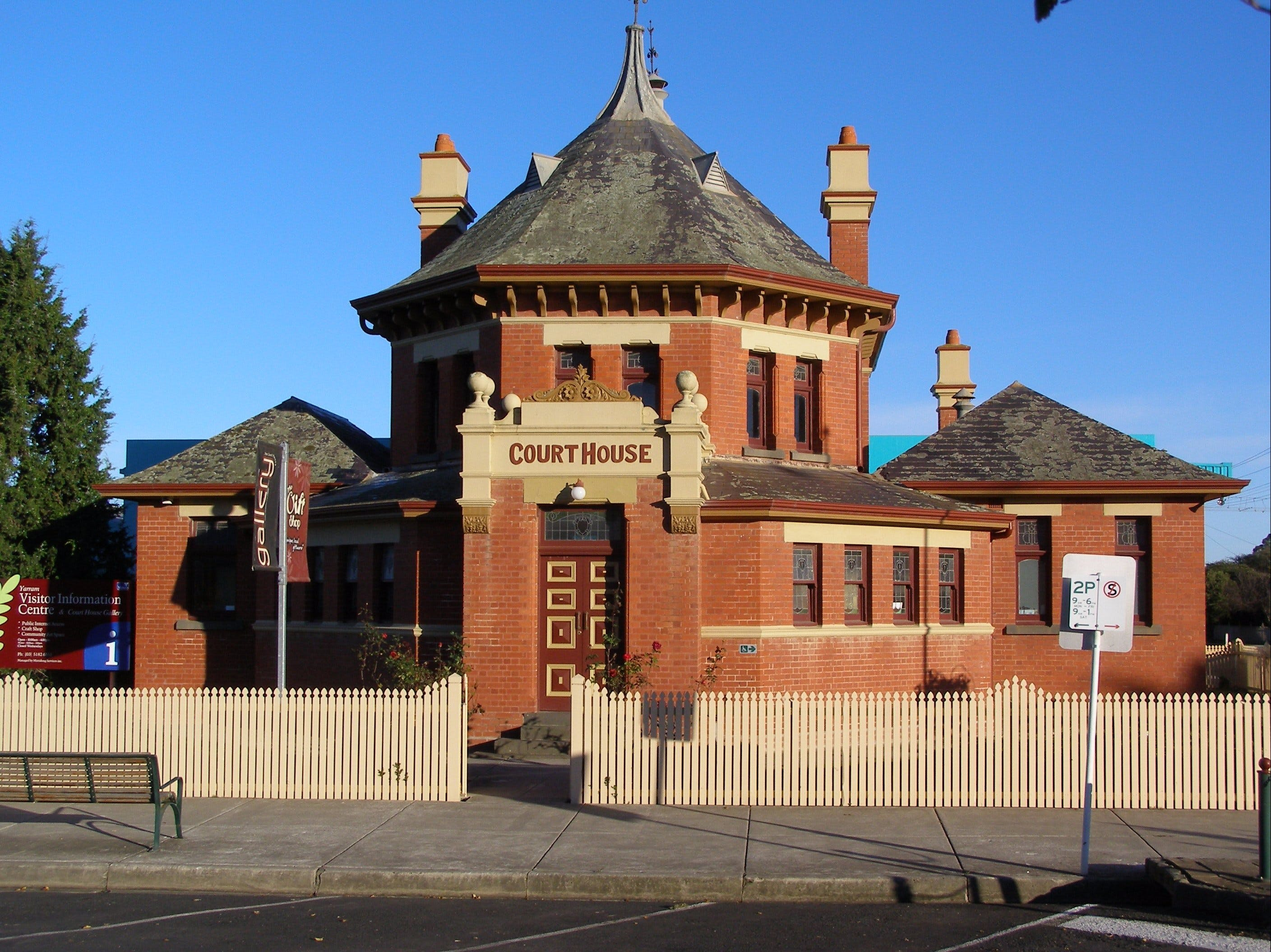 Yarram Courthouse Gallery - Accommodation Melbourne