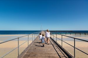 Moonta Bay Jetty - Accommodation Melbourne
