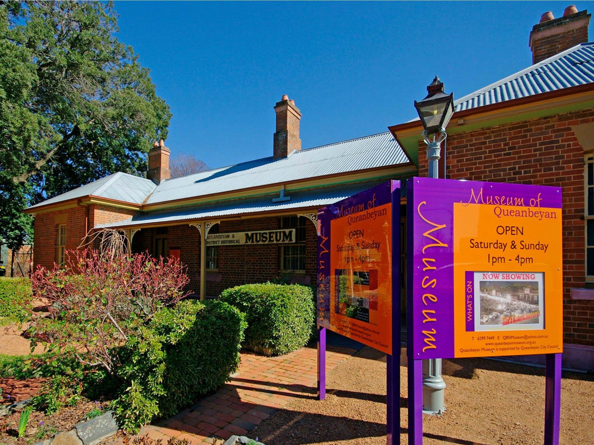 Queanbeyan Museum - Accommodation Melbourne